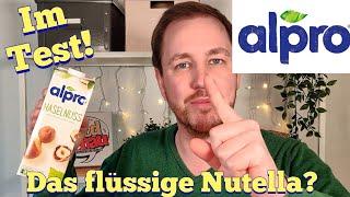 Alpro Haselnuss (Nutella zum Trinken?)