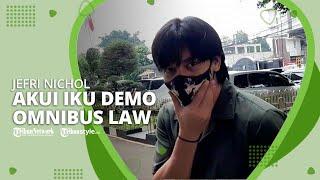 Sempat Viral di Media Sosial, Jefri Nichol Akui Ikut Demo Omnibus Law