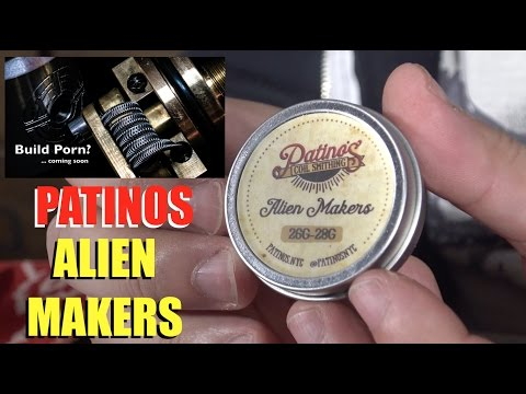 Making an Alien Coil with Patinos Alien Makers | The Break In May Break You!