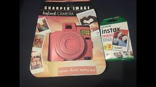 Sharper Image Instant Camera Instax Film Walmart Clearance