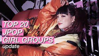 MY TOP20 JPOP GIRL GROUPS (update)