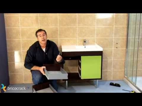 Instalar un mueble de baño suspendido (Bricocrack)