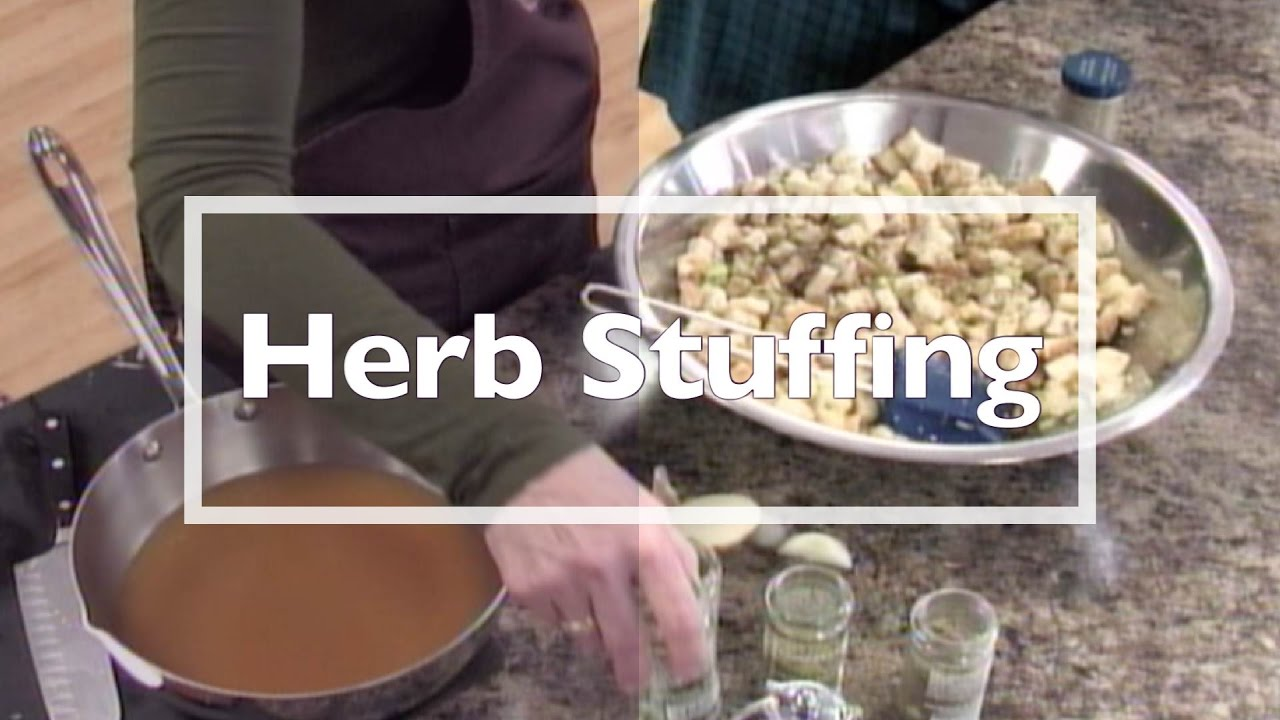 Holiday Herb Stuffing