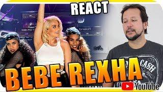 BEBE REXHA - Marcio Guerra Reagindo React Reação Dance Pop R&B Hip Hop