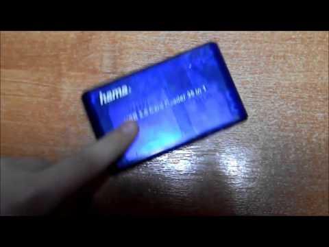 Обзор на HAMA USB 2.0 Multi Card Reader 35 in 1.
