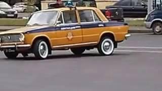 Патрульная автомашина ГАИ СССР ВАЗ-2101 1981 года выпуска. Законченный проект. \Часть 2\.