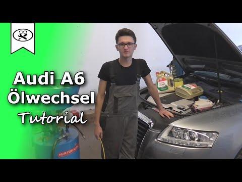 Audi A6 3.0 Öl Wechseln |  Audi A6 3.0 Change Oil  |  VitjaWolf | Tutorial | HD