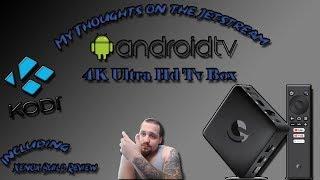 jetstream 4k ultra hd android tv box español - Kênh video giải trí