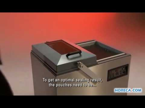 Video Henkelman Vacuum packaging machine Falcon 2 60
