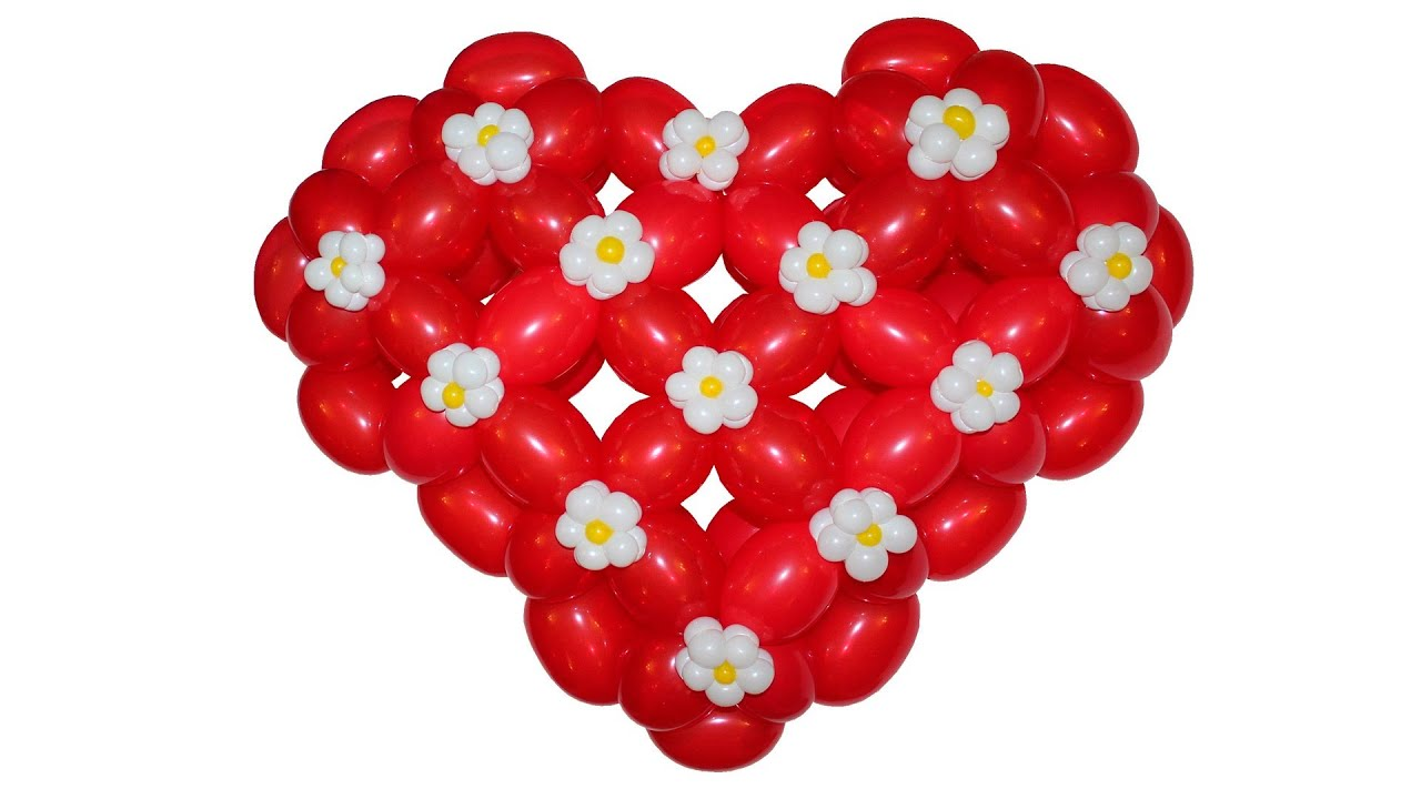 Lovely Heart Balloons
