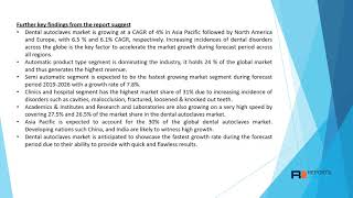 Dental Autoclaves Market