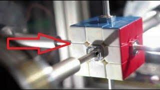 Рекорд. Как собрать кубик рубик за 0,38 секуды. Невероятно но факт