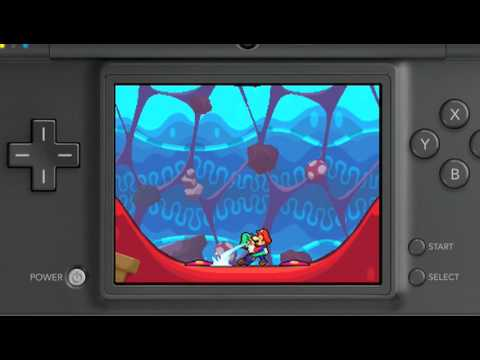 More Mario & Luigi: Bowser's Inside Story Gameplay Action