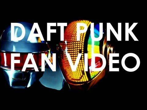 Daft Punk - Technologic  (chalk fan music video)