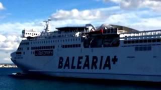 Паромная компания Испании Balearia, которая связывает острова с материковой частью Испании