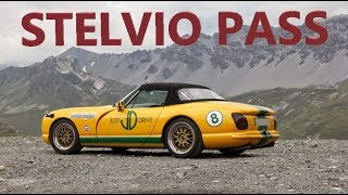 Overtaking galore! The mighty Stelvio Pass in a TVR flat out (full video)