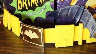 Mattel classic TV Batman Utility Belt & Batarang review