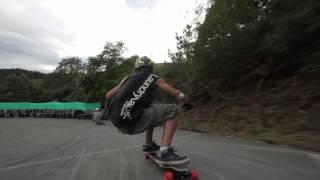 preview picture of video 'Raw run de Iván Dávila Chakal y Mikel Echegaray en el Freeride Ibardin 2013'