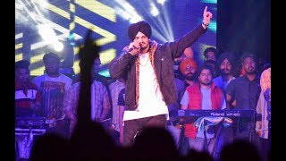 Sidhu moosewala at Panjab University -  it's all about you song Live in chandigarh 2018 .