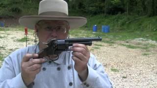 Firing the LeMat Revolver