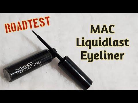 Roadtest Review MAC Liquidlast Eyeliner- Makeuppinay