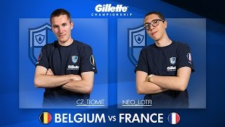 France vs Belgium (Gillette Championship Grand Final Highlights)