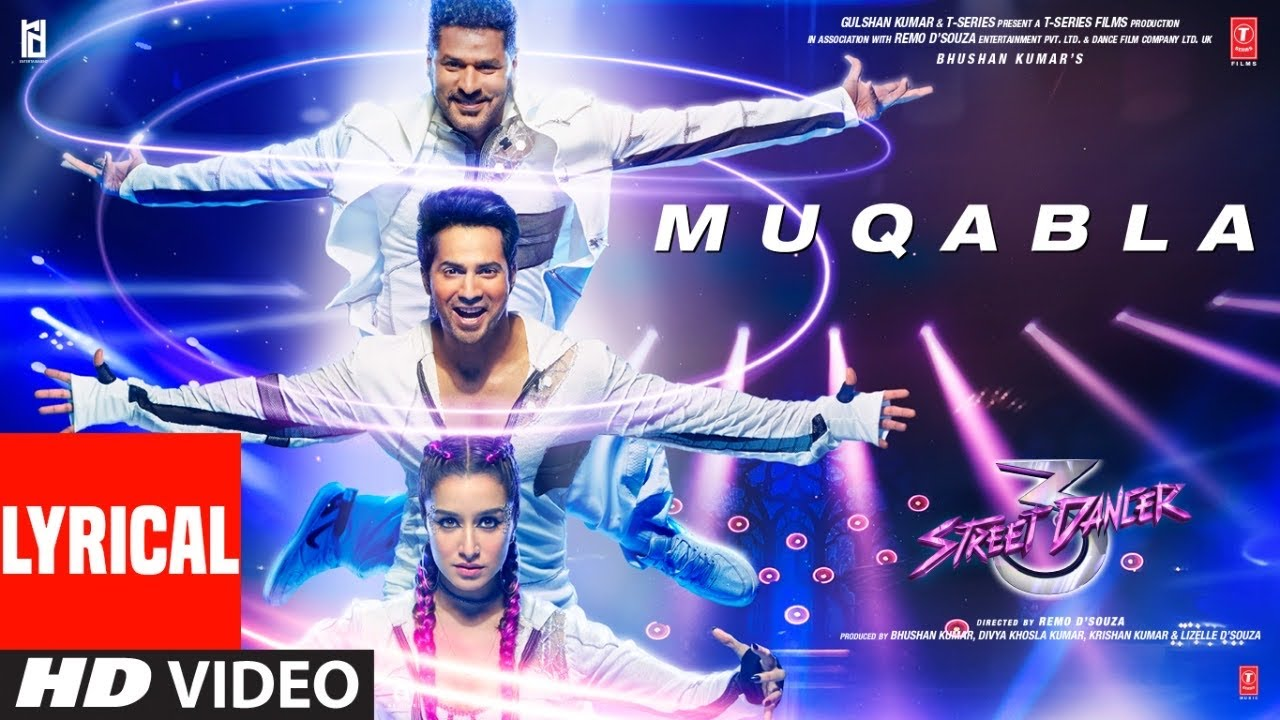 Muqabla Lyrics | Street Dancer 3D | A.R. Rahman