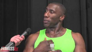 Shannon Sharpe FitnessRX For Men Photo Shoot/Interview