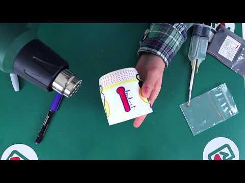 Как сделать кружку хамелеон ⁄ термотрансферную своими руками