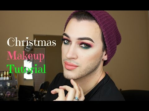 Youtube How To Videos Christmas Makeup Zoella Red Green - Christmas-makeup
