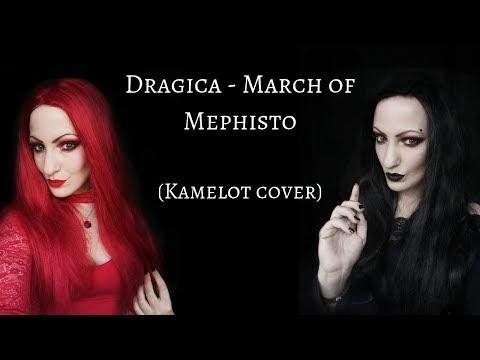 Dragica - March of Mephisto (Kamelot cover) w/Gisha Djordjevic