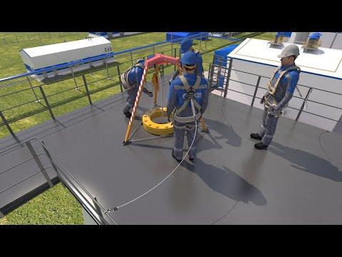 Организация и обеспечение безопасности работ на высоте на газовых объектах с оформлением наряда-д...