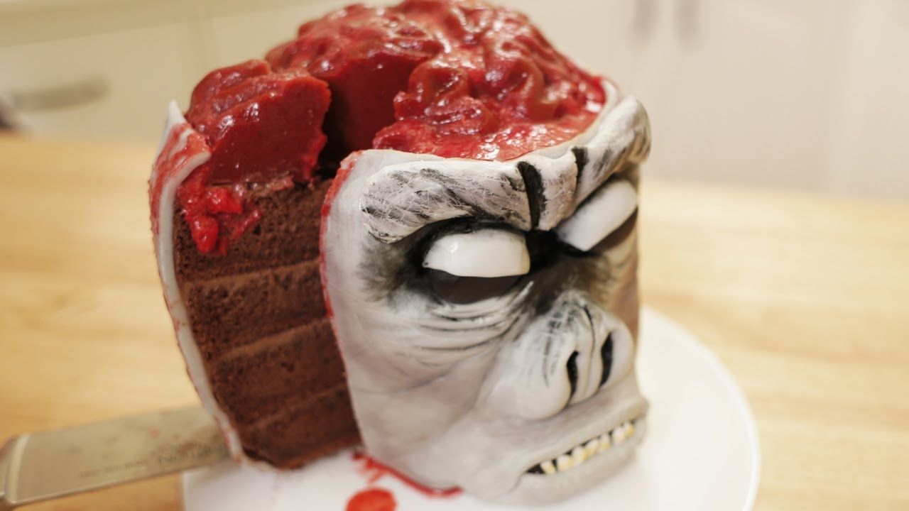 INDIANA JONES MONKEY BRAIN CAKE - NERDY NUMMIES thumbnail