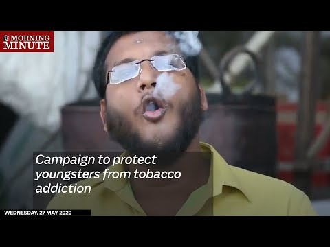 Campaign to protect youngsters from tobacco addiction