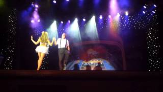 Dancing with the Stars at Sea on the Maasdam (Dwight Cenac).