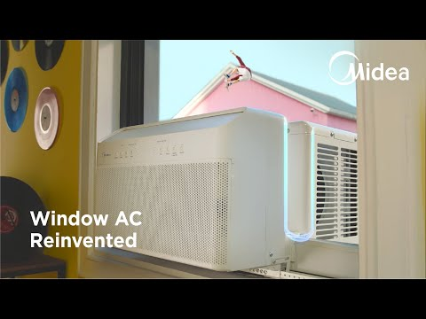 Midea: The Window Air Conditioner, Reinvented-GadgetAny