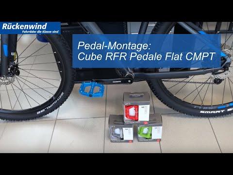 Cube RFR Pedale Flat CMPT / Montage