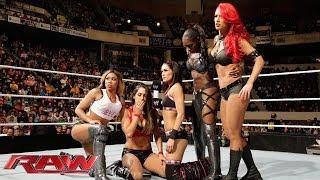 The Bella Twins, Funkadactyls & Eva Marie Vs. Aksana, Rosa Mendes, Summer Rae, Alicia Fox & Kaitlyn: