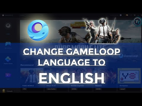 GameLoop Emulator Language Chinese to English Very Easy   PubG Mobile   Easy Solution