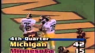 1989 Michigan Replay Michigan at Minnesota