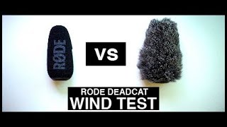 🎤 RODE Video Mic Pro - DeadCat - WIND Test REVIEW 🎤