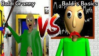 Baldi Granny vs Baldi