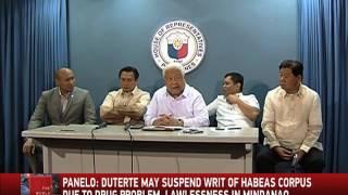 What Suspension Of Habeas Corpus Means
