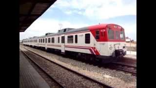 preview picture of video 'Serie 592 de Renfe en Albatera-Catral'