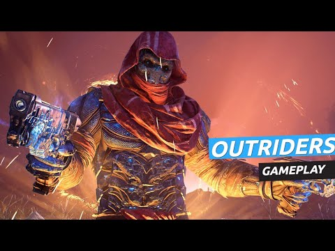 Gameplay de OUTRIDERS