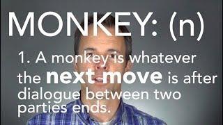 Monkeys - Liberating Time Management Concept