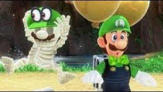 Luigi's Balloon World: 4 Spots in The Cascade Kingdom