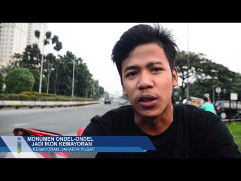 Monumen Ondel-Ondel Jadi Ikon Kemayoran