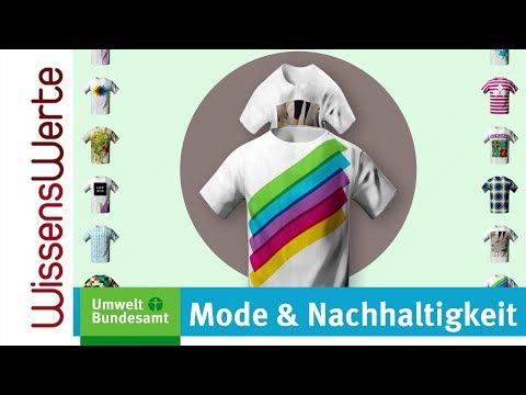 WissensWerte empfiehlt: Mode & Nachhaltigkeit (Umweltbundesamt)