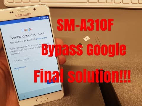 BOOM!!! Without PC!!! Samsung A3 2016 (SM-A310F) ,Remove Google Account,Bypass FRP.